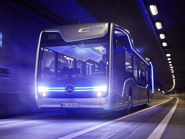 Bus autonome Mercedes
