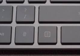 Microsoft : un clavier avec lecteur d'empreinte